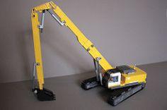 Liebherr R974 C Hi-Reach - lego liebherr foitsop moc excavator construction demolition demo hireach reach hi