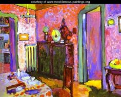 Wassily Kandinsky Most Famous Paintings | ... My Dining Room - Wassily Kandinsky - www.most-famous-paintings.org