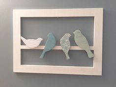 Hey, I found this really awesome Etsy listing at https://www.etsy.com/listing/273738316/birds-on-a-wire-3d-wood-cut-wall-art