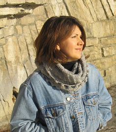 Free Knitting Pattern - Cowls and Neck Warmers: Aibhlinn Cowl