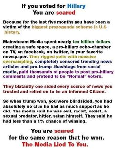 This! Amazing, a fact that's truth..sheeple still believe the lie and will not believe they are being deceived.