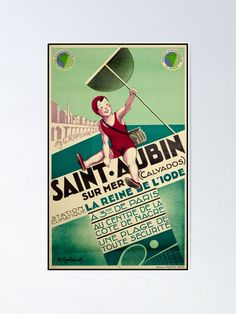 "Saint Aubin Vintage Travel Poster ""Take only memories, leave only footprints."" – Chief Seattle france,frankriech,francie,aubin,bain,bath,mer,meer,sea,iode,calvados,,travel poster,travel,vacances,poster,travelposter,holiday,vintage,clasic,retro,coloured,wanderlust,cruise,railway,railroad,1920,1930,1940,1950, Dalai Lama, Chief Seattle, Retro Color, Vintage Travel Posters, Cruise, Saints, Footprints, Holiday, Wanderlust"