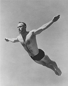 Diving Springboard, Magnum, Swimming Diving, Fantastic Art, Vintage Photographs, Vintage Photos, Personal Photo, Muscle Men, Photo Poses