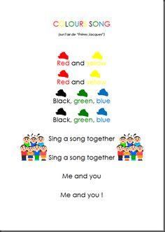 couleurs en anglais
