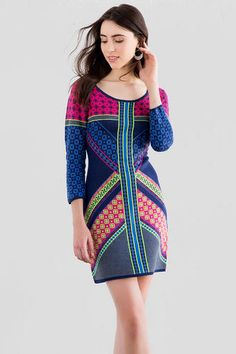 Beverlie Sweater Dress.  I love these colors.