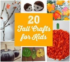 20 cute crafts to make with your little one this season!