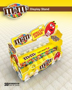 m&m's - Display Stand on Behance