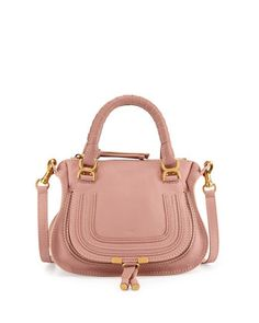 Marcie Mini Shoulder Bag, Pink by Chloe at Bergdorf Goodman.