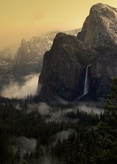 Bridalveil Fall, Yosemite National Park, CA