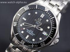 Alpha Seamaster automatic watch