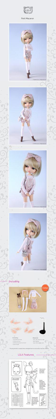the SOOM emporium: Petit Macaroon Lila Doll