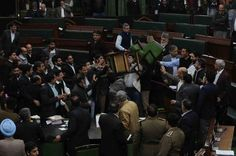 Marshal injured as chairs fly in J&K Assembly