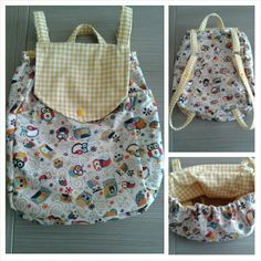 Child Backpack - mochila niño DIY