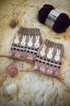 Pupujen juhla KAL-sukat | Novita knits