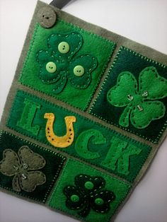 St Patrick's Day Luck of the Irish by timelesstradition on Etsy, $20.00