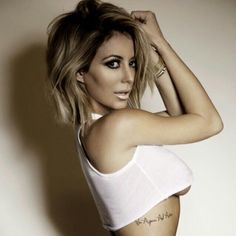 Aubrey O'Day ombre bob thinking about transitioning my blonde hair to this, hmmmm. i def love!