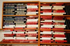Americana Home: Books as flag art A Lovely Journey, Independance Day, Flag Art, Book Organization, Book Storage, Let Freedom Ring, Patriotic Decorations, House Decorations, Library Displays