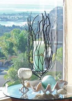 Sue Murphy Designs - Life as a House - Decorating with Sea Shells Seaside Decor, Beach House Decor, Coastal Decor, Home Decor, Coastal Cottage, Coastal Homes, Coastal Style, Coastal Living, Cottages By The Sea