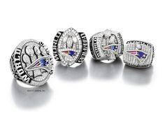 All 4 New England Patriots Super Bowl Rings. Robert Kraft hosts ceremony to present Patriots Super Bowl XLIX Championship rings | New England Patriots