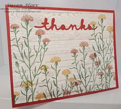 Wild About Flowers, Greeetings Thinlits, Stampin Up, susanstamps.wordpress.com