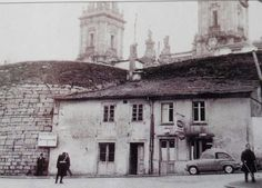 Casas adosadas Porta Santiago. Lugo antigo