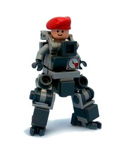 Bowbrick's Bobsuit, A Tiny Lego Mech Suit