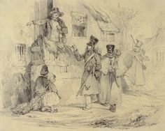 Three Soldiers Arriving at their Quarters