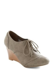 ModCloth On the Wingtip Wedge