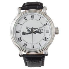 Vintage Airplane Wrist Watches  #Airplane #Vintage #watches #Wrist MonitorWatches.com