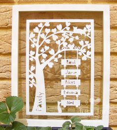 Family tree from Just Jane blog