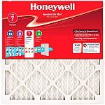 """4-Pack Honeywell 1"""" Allergen Plus Pleated FPR 7 Air Filter (Assorted Sizes) $20 (46% Off) #LavaHot http://www.lavahotdeals.com/us/cheap/4-pack-honeywell-1-allergen-pleated-fpr-7/191844?utm_source=pinterest&utm_medium=rss&utm_campaign=at_lavahotdealsus"""