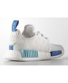 reputable site 29ca0 b7919 Adidas NMD Runner City Pack Sao Paulo All White Blue Sky Trainers Sale UK Adidas  Nmd · Adidas Nmd Mens ShoesCheap ...