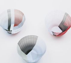 """""""Airvase Bauhaus"""" shapeable paper Designed by Torafu Architects in Japan"""
