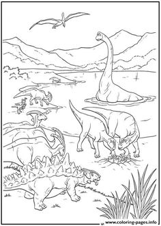 Dinosaur 36 Coloring Pages Printable And Book To Print For Free Find More Online Kids Adults Of