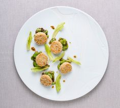 Spanner crab and sesame cakes   FOUR Magazine