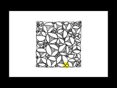 Zentangle Patterns   Tangle Patterns - Keenees - YouTube