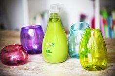 Initiales GG ... : {DIY} des bouteilles recyclées en jolis pots colorés !