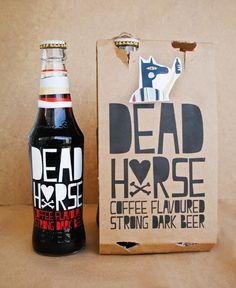 Dead Horse by Murat Eren, via Behance