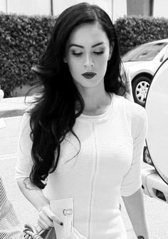 The most fabulous and elegant photo of Megan Fox I have ever seen.