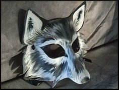 deviantART: More Like Copper Steampunk Leather Wolf Mask by Jedi-