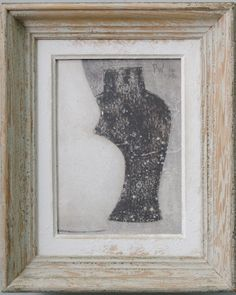 Small 2 - Original acrylic painting on wood in antique frame by Peter Woodward Antique Frames, Vintage Frames, Acrylic Paint On Wood, Painting On Wood, Contemporary Paintings, Antiques, Artist, Artwork