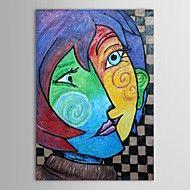 Håndmalt oljemaleri Museum Masters Malerier Pablo Picasso Kiss Maleri Reproduksjon med utstrakte ramme