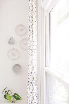 #curtains, #artwork  Photography: Heidi Geldhauser - ourlaboroflovebyheidi.com/ Design & Styling: Christina Loucks - christinaloucks.wordpress.com/  Read More: http://www.stylemepretty.com/living/2013/07/08/christina-loucks-home-tour/
