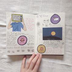"goghflora: ""i miss my summer journal """