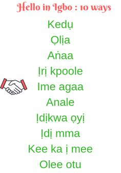 44 Best Igbo Language Learning Resources images in 2019