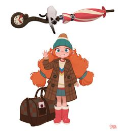 """ArtStation - New project - Spiraling Witch Encyclopedia """"A suspicious Transfer student"""", Hong SoonSang Kid Character, Character Design Animation, Female Character Design, Character Design References, Character Design Inspiration, Character Concept, Cartoon Kunst, Cartoon Drawings, Cartoon Art"""