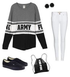 """""""Army Brat"""" by hous15 on Polyvore featuring Burberry and Vans"""