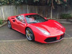 We are pleased to have the following 488 available finished in the stunning Rosso Metallizatto launch colour.  For More Information about the car visit: http://www.scuderiacarparts.com/scuderiaautomotive/car/ferrari-488-gtb-lhd_7.html