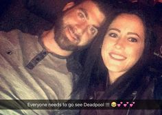 « #DeadPool was FREAKING AWESOME!!! We laughed from beginning to end !!! Loved it !!! Hope they come out with another. ❤️ #firstvalentinesday @uncledave01 »