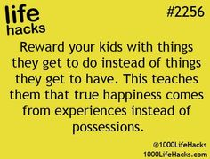 Absolutely agree! Money CAN buy happiness and it's in the form of memories. Google it. It's been proven ;)